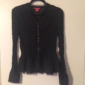 🧨4 for $18🧨 Crinkle Stretch Pleated TOP 🧨NWOT